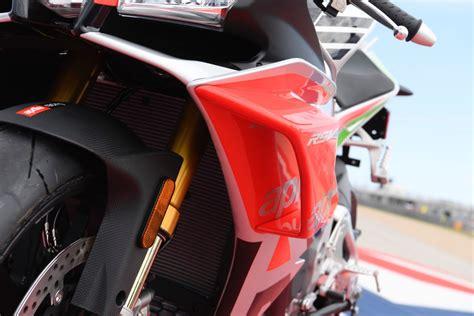 aprilia rsv rf limited edition  winglets unveiled