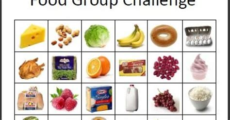 empowered   food group challenge