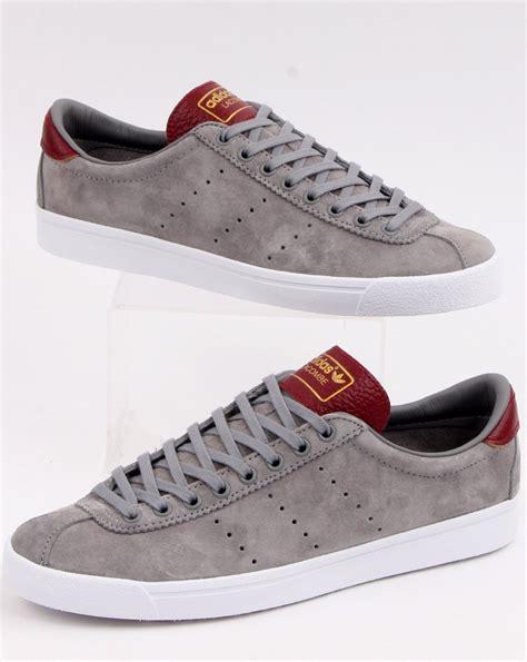 Adidas Lacombe Trainers Grey/Burgundy - adidas At 80s ...