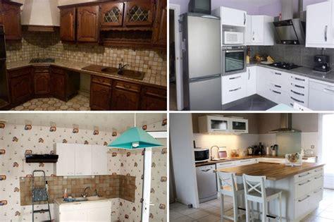 relooking cuisine avant apres relooking intégral de cuisines avant après cuisine