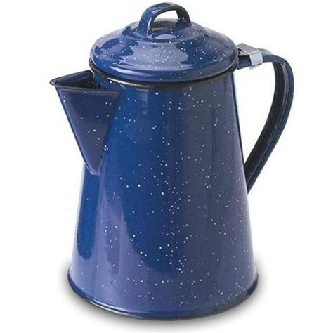 enamel cookware speckled camping cooking kitchen camp coffee campfire