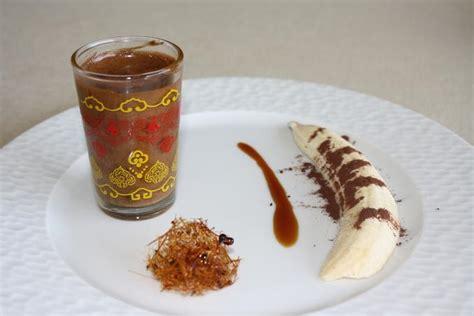 recette id 233 e de d 233 ssert banane caramel et mousse au chocolat 750g