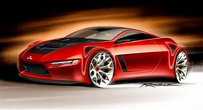 Cars Concept Wallpapers Muscle Sports Future Mitsubishi