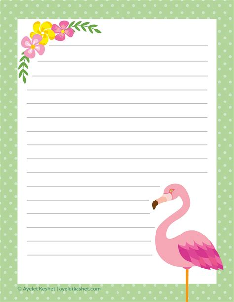 printable letter paper printables