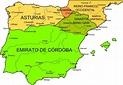 Picture Information: Kingdom of Asturias Map