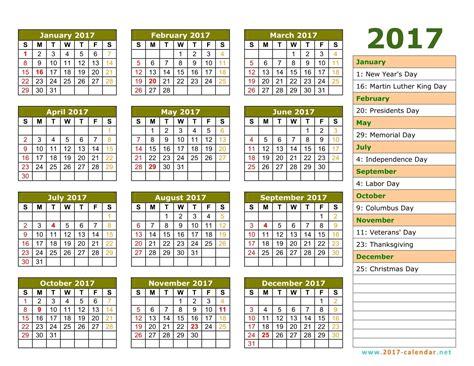 November 2017 Calendar With Holidays | weekly calendar ...