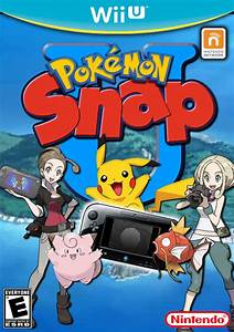 Pokemon Snap U Wii U