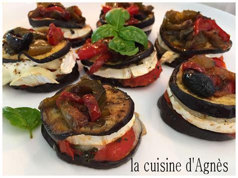 millefeuille aubergine ch 232 vre la cuisine d agn 232 sla cuisine d agn 232 s