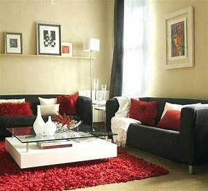 black living room decor view in gallery and grey on living With red and black living room decorating ideas