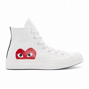 White Heart Logo Converse Edition from SSENSE