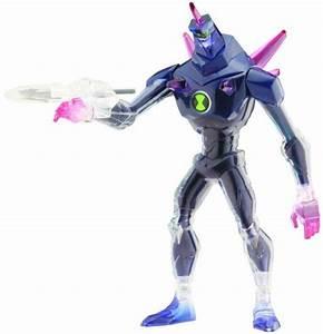 Ben 10 Alien Force DNA Alien Heroes Chromastone 6 Action ...