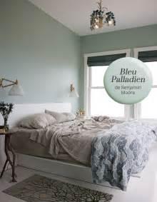Peinture Vert De Gris : couleur de peinture bleu palladien de benjamin moore ~ Melissatoandfro.com Idées de Décoration