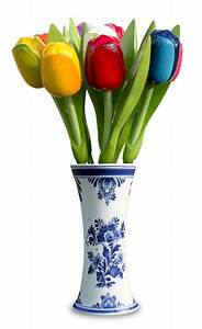 Tulpen In Vase : typische holl ndische h lzerne tulpen im blauen vase delft online shop typisch hollands ~ Orissabook.com Haus und Dekorationen