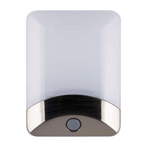 ge color changing led light brushed nickel 34694