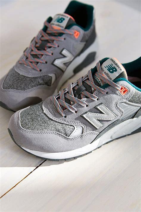 new balance 580 tomboy running sneaker in gray grey lyst