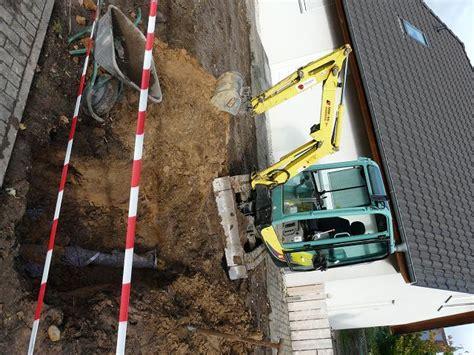 drainage hauswand aufbau drainage verlegen werder potsdam teltow berlin
