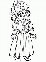 Coloring Doll Pages Baby Antique Popular sketch template