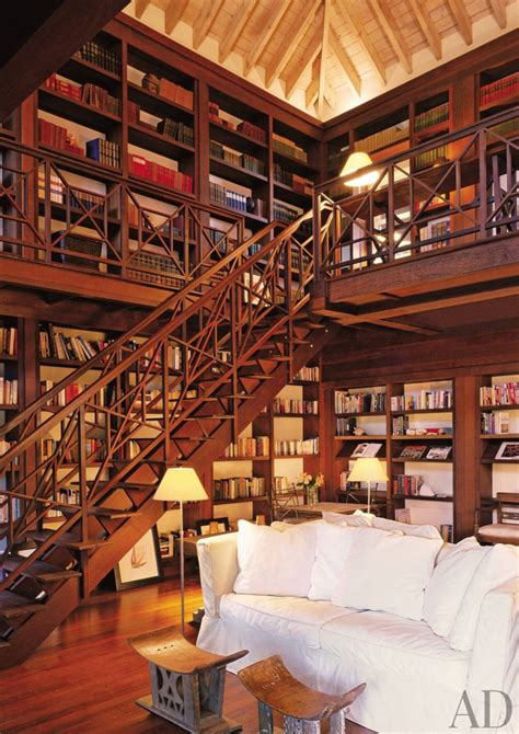beautiful home libraries   world wow