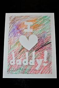 Fathers Day Card Idea
