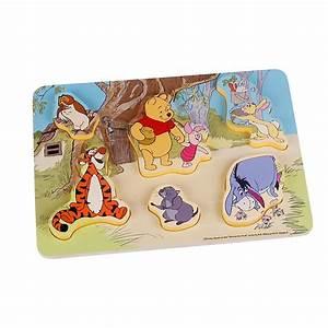 Puzzle En Bois Bébé : puzzle en bois winnie l 39 ourson et ses amis pour b b ~ Dode.kayakingforconservation.com Idées de Décoration