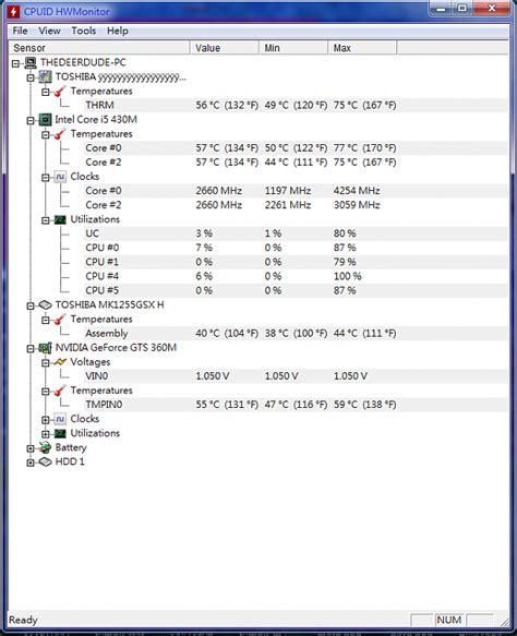 cpu exceeding specs hwmonitor ghz solved windows
