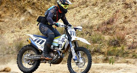Husqvarna's Brett Does It Again Rallystar