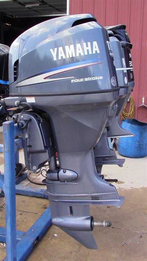 used 2008 yamaha f115txr 115hp 4 stroke outboard boat motor 25 quot shaft
