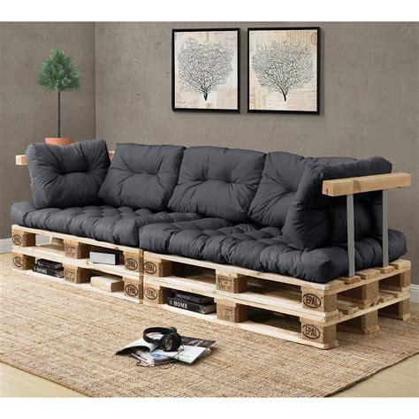 polster für sofa en casa 1x sitzpolster palettenkissen in outdoor paletten kissen sofa polster ebay