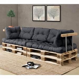 Kissen Für Sofa : 1x sitzpolster palettenkissen in outdoor paletten kissen sofa polster ebay ~ Frokenaadalensverden.com Haus und Dekorationen