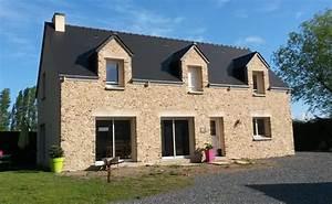 Construction Maison En Pierre : construction maison bretteville sur ay de m sur ~ Melissatoandfro.com Idées de Décoration