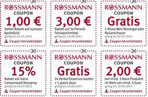 rossmann 10 prozent coupons 2015