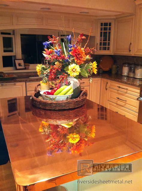 copper top kitchen island kitchen island with copper counter top copper counter tops 5805
