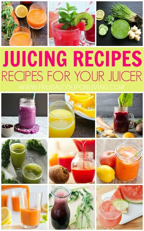 juice recipes juicing beginner health juicer healthy frugal coupon living diy easy food plus crafts detox using juices drink frugalcouponliving