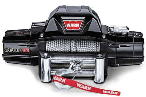 Free Shipping On Warn 88990 Zeon 10 Steel Wire Rope Winches