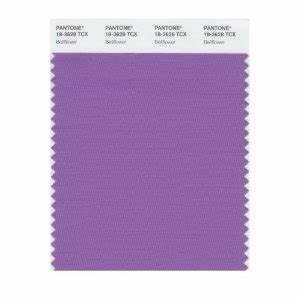 Pantone 18 3628 TCX Smart Color Swatch Card Bellflower