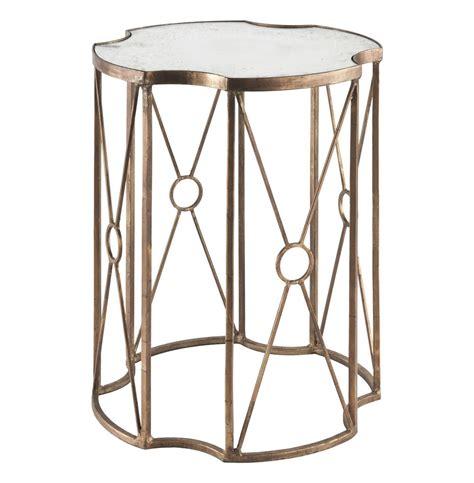 gold end table marlene gold leaf antique mirror end table 20 4876