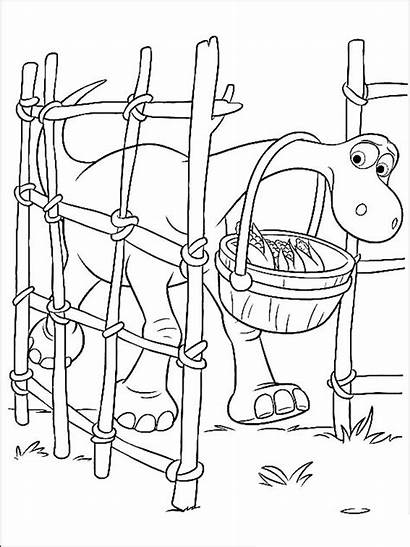 Dinosaur Coloring Pages Printable Cartoon Recommended
