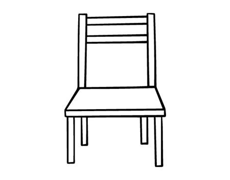 dessiner une chaise dibujo de una silla de madera para colorear dibujos