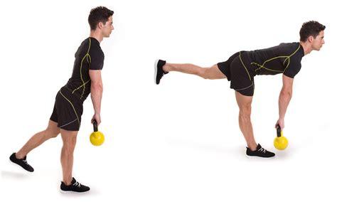 leg kettlebell workout kettlebells deadlift single exercise kettle bell workouts stiff body