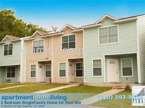 2 Bedroom San Antonio Homes For Rent