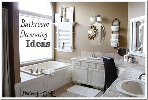 bathroom ideas decorating pictures 7 bathroom decorating ideas master bath finding home farms