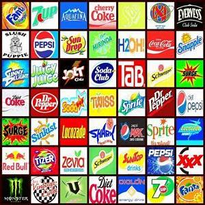 Soft drink, Logos and Drinks on Pinterest