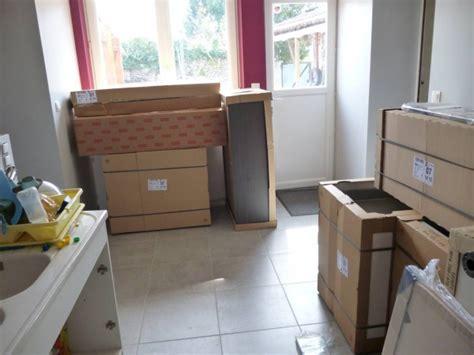 renovation credence cuisine projet cuisine dans maison rénovation crédence p18 260