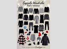 Herbst & Winter Capsule Wardrobe 2017 2018 The