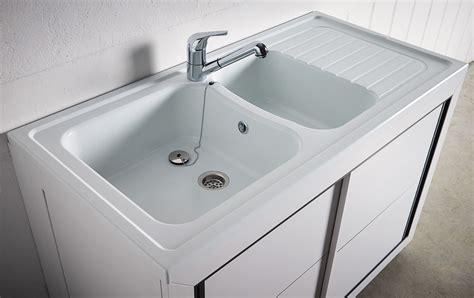 bonde pour evier de cuisine carea sanitaire vendée normandie meuble composite pvc