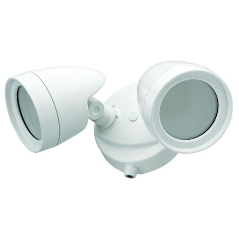 Led Security Light Dusk To by Defiant 2 White Outdoor Integrated Led Security