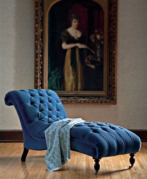 gorgeous royal blue tufted chaise chaise lounges i want