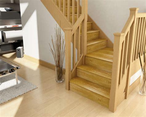 oak step oak stair cladding stair klad cheshire mounldings