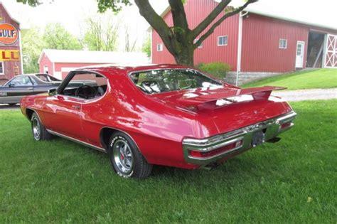 Rare 1970 Pontiac Gto Phs Documented