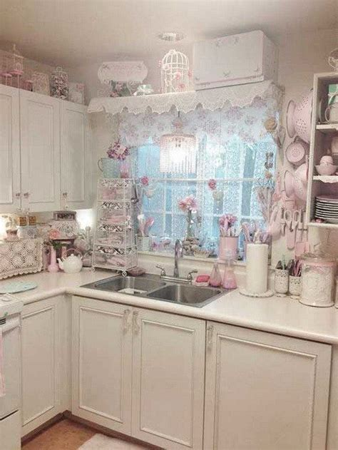 girly kitchen accessories 35 awesome shabby chic kitchen designs accessories and 1221
